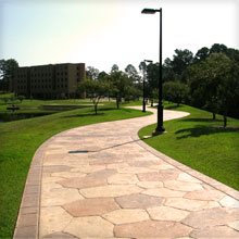 UT Tyler Lake Walking Path