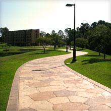UT Tyler Lake Walking Path